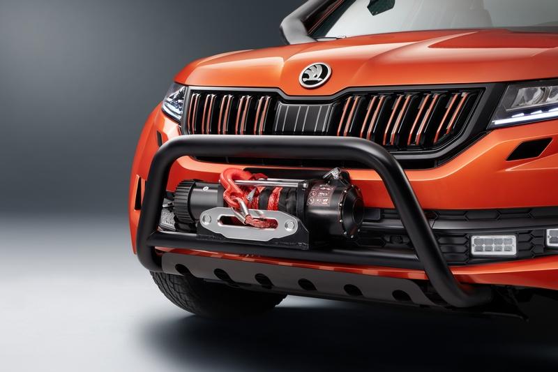 Mountiaq車頭裝置絞盤配備