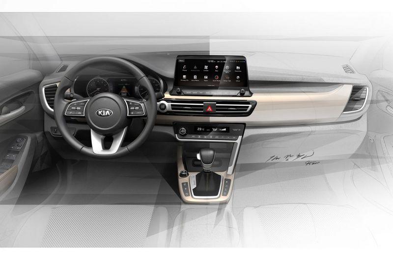 為因應車型定位座艙配置10.25吋螢幕,並無看見數位儀表。