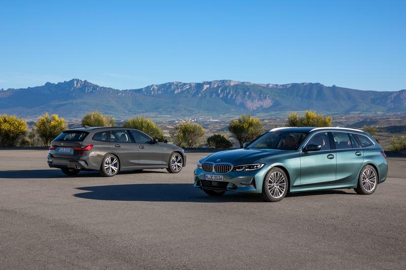 新世代3 Series Touring造型比照3 Series有著更為運動化樣貌。