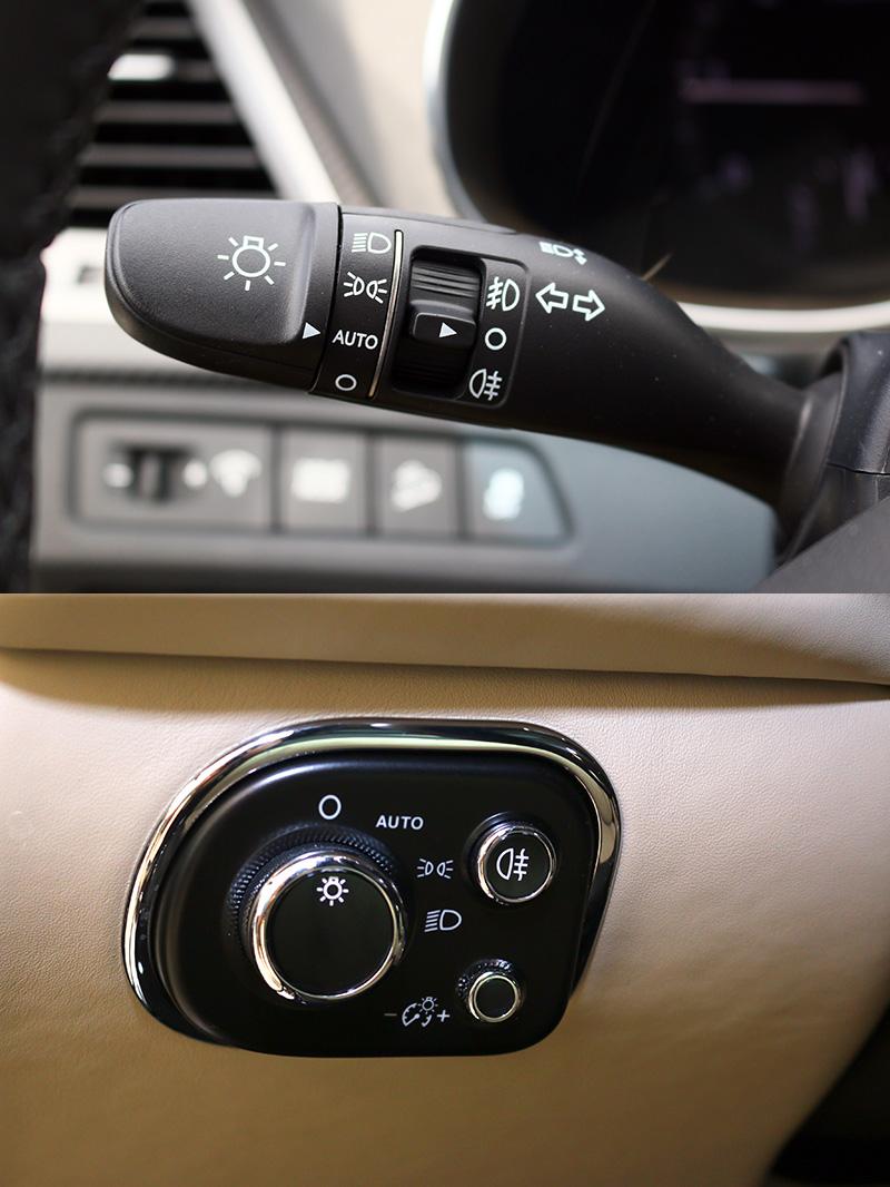 無論是撥桿式還是旋鈕式開關,若有配自動啟閉頭燈的車款,駕駛者可得記得轉至AUTO,才能發揮功效。