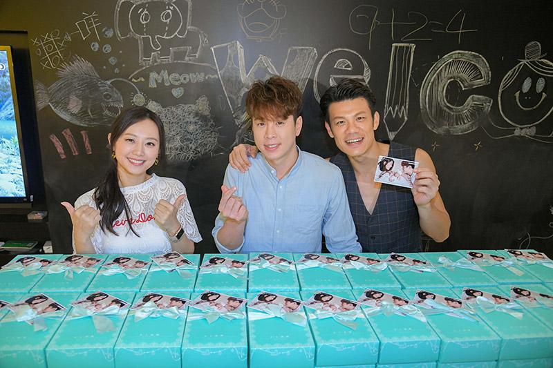 炮仔聲演員(左起)璟宣、吳東諺、陳志強