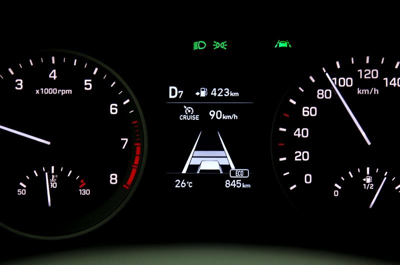 這次SmartSense增加了SCC主動車距維持系統,搭配LKA車道偏移輔助創造猶如Level 2半自動駕駛表現。
