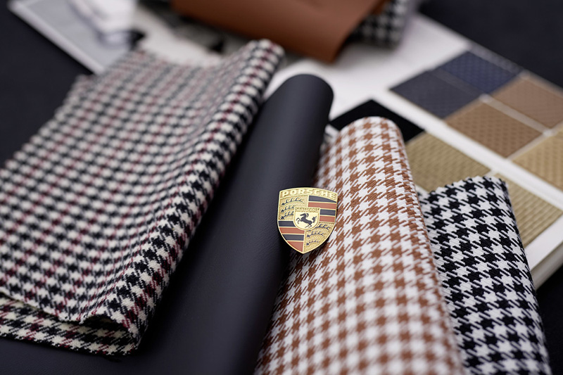 1960年代的Pepita織布樣式。