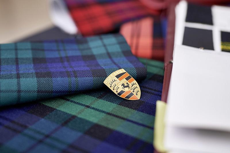 1980年代的蘇格蘭裙格紋。