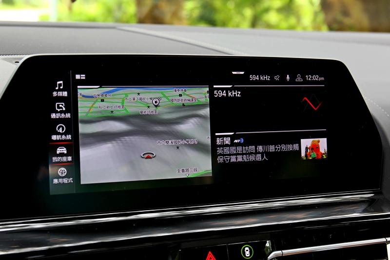 10.25吋中控螢幕不論功能豐富度與操作直覺都獲得滿足。