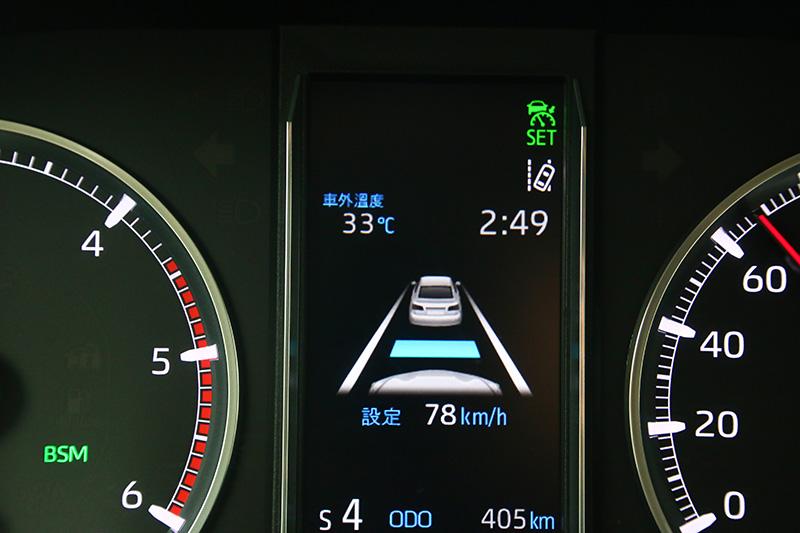 Granvia亦配有DRCC雷達感應式車距維持系統、LDA車道偏移警示系統、PCS預警式防護系統、BSM盲點偵測警示系統等主動安全科技,並標配六具氣囊。