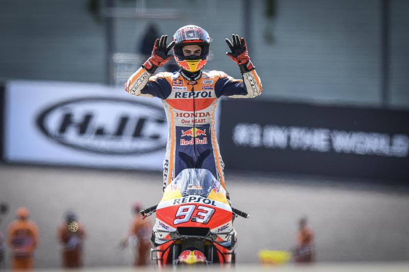 還是要恭喜Marquez連續10年在德國站獲得Pole To Win紀錄。