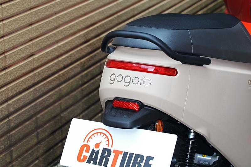 相較於車頭Gogoro 3車尾就顯得討喜。