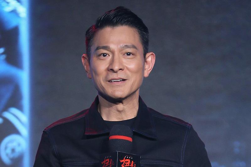 劉德華現身北京宣傳電影《掃毒2 天地對決》