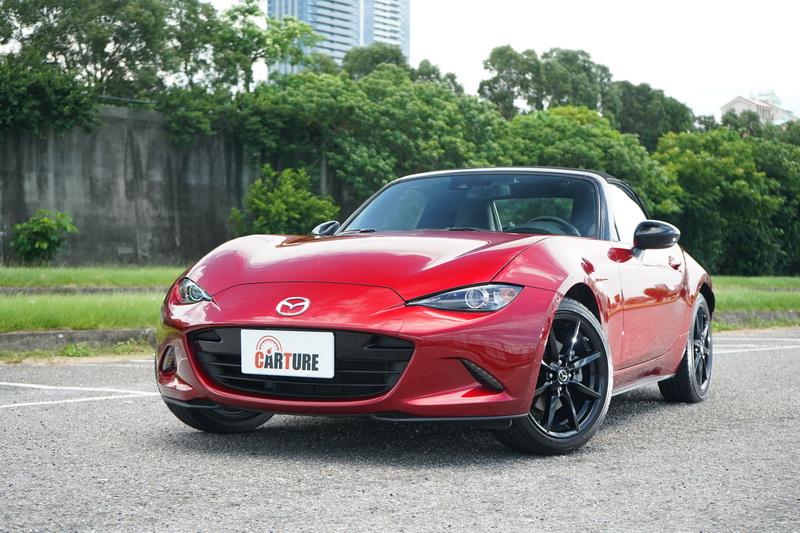 新年式Mazda MX-5尚未達小改款之際,因此外觀的變動不大