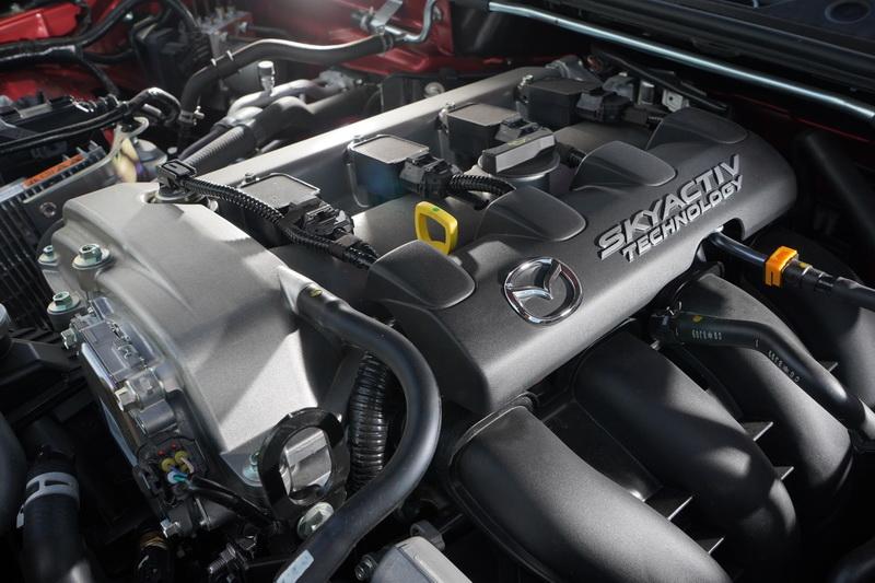 這具SKYACTIV-G經過多項調整後,馬力由160匹提升至184匹,扭力峰值也上漲至20.9公斤米