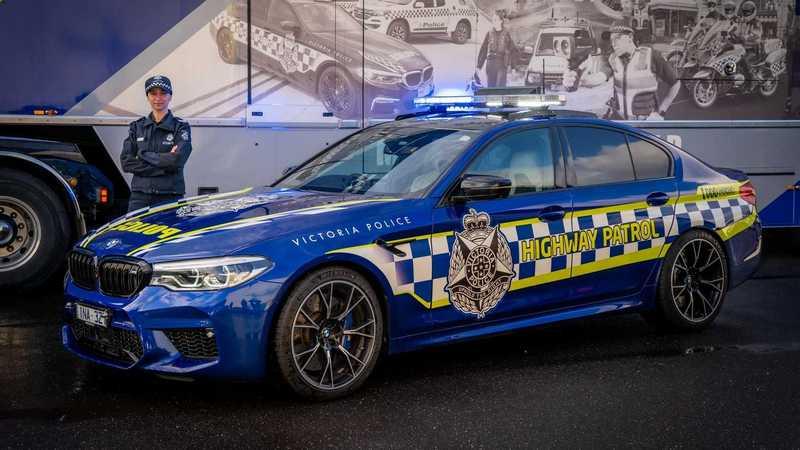 澳洲也添購BMW M5 Competition作為警車。