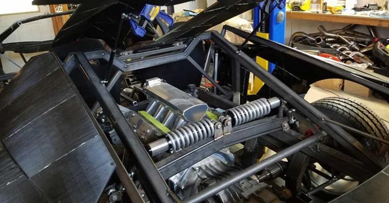因預算有限不少零件如引擎等都是使用中古品。