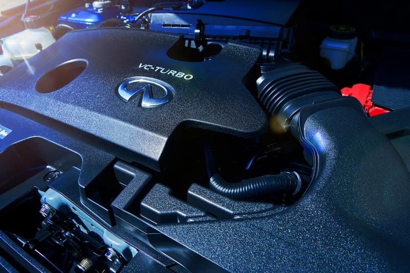 QX50的2.0 VC-Turbo引擎具有可變壓縮比技術。