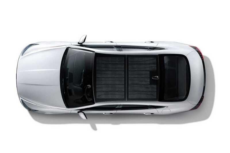 Sonata Hybrid所搭載的太陽能一年能額外提供1300公里行駛里程。