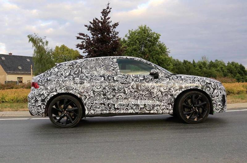 RS Q3 Sportback已經包著偽裝在路上測試了。