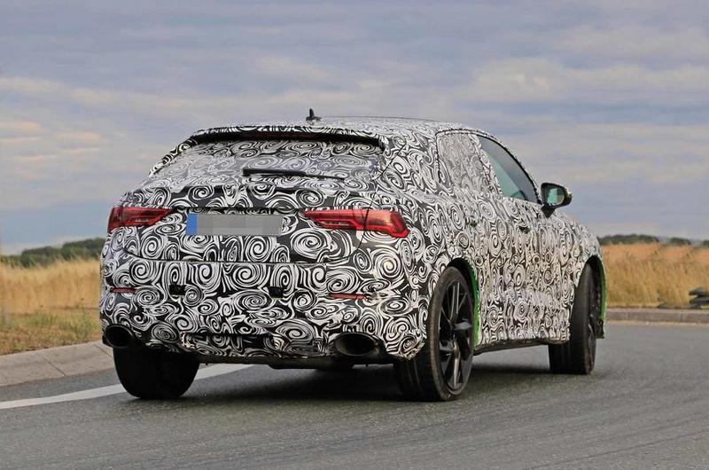 RS Q3 Sportback可能會搭載2.5升渦輪引擎。
