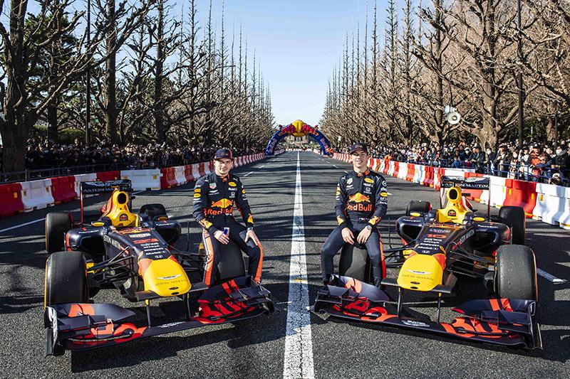 2020 Red Bull Racing F1 Showrun由F1車手帶領F1賽車及維修團隊登台。