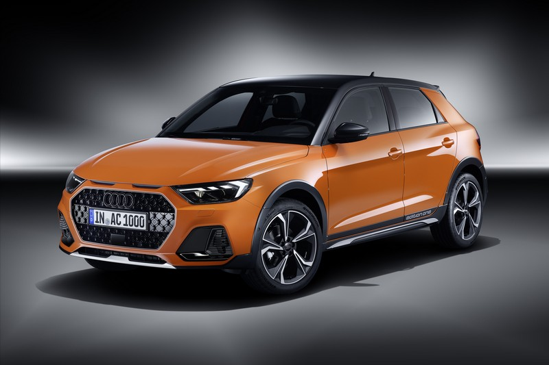 Audi無預警的帶來全新跨界車A1 citycarver。
