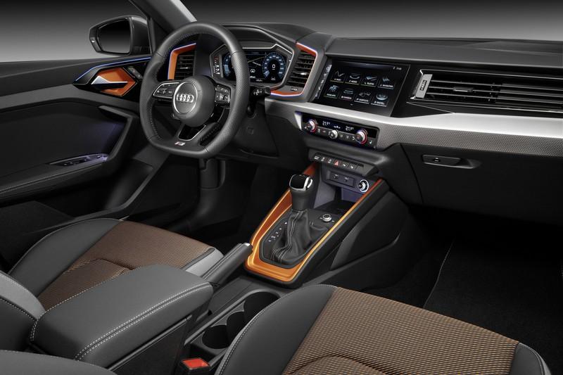 A1 citycarver座艙格局與A1 Sportback相同。