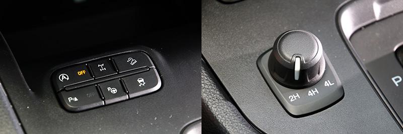 Ranger擁有完備的越野機能,包括:三種驅動模式切換、斜坡緩降與差速器鎖定等。