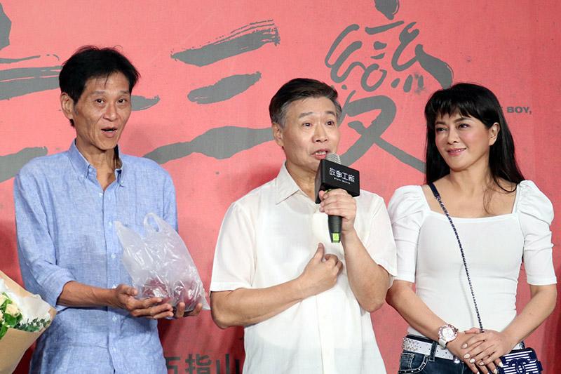 (左起)喜翔、朱陸豪及葛蕾