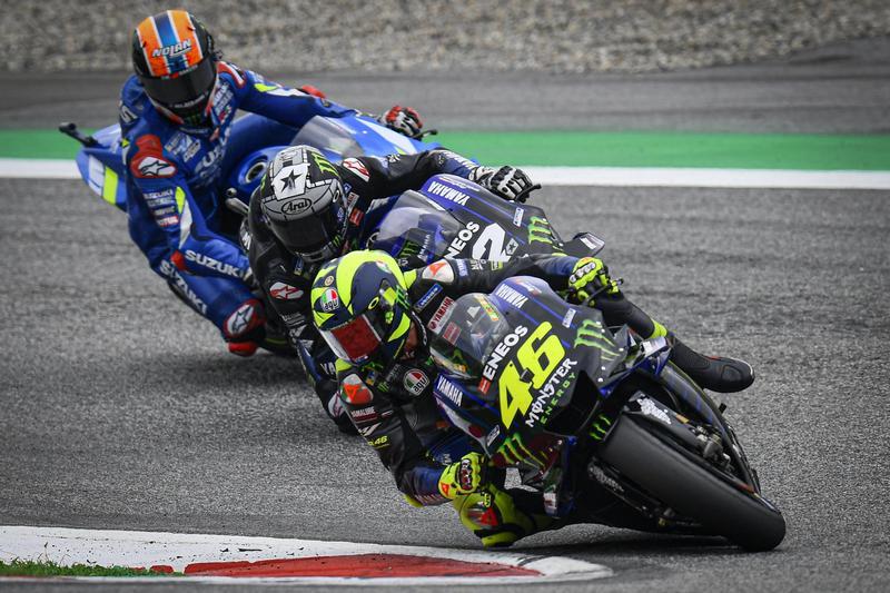 本站Rossi有著不錯表現,可惜最後未能擠進第三站上頒獎台。