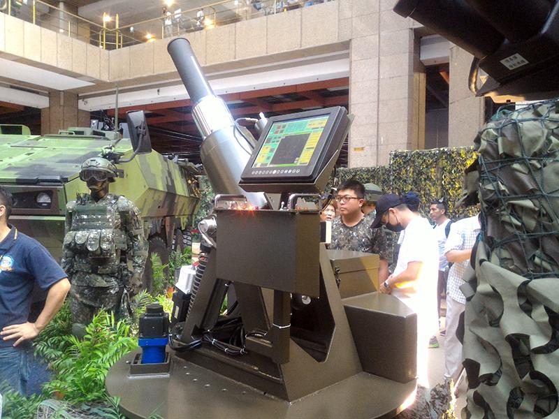 最新車載81/120mm迫砲系統。