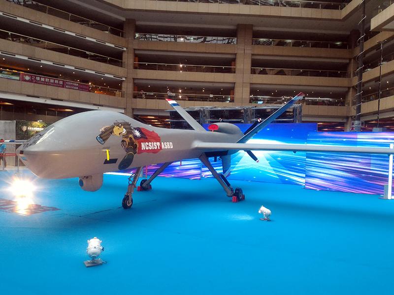 新版騰雲大型無人機。