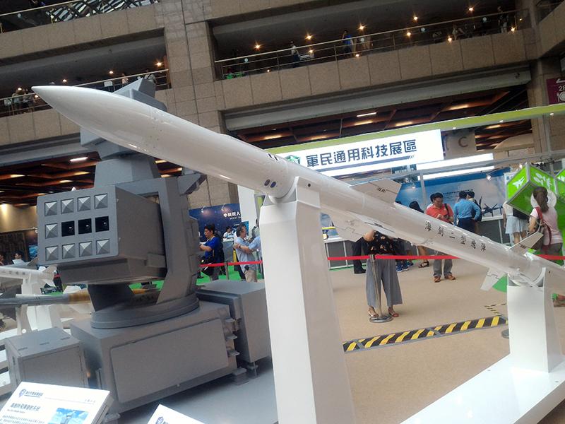 即將開發完成之海劍二型飛彈,未來將成為艦載中低空防空主力。