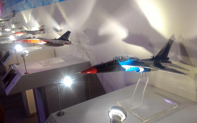 台灣自主研發的高級教練機,僅以不到四年的研發時間,預計在9月底正式出廠亮相。