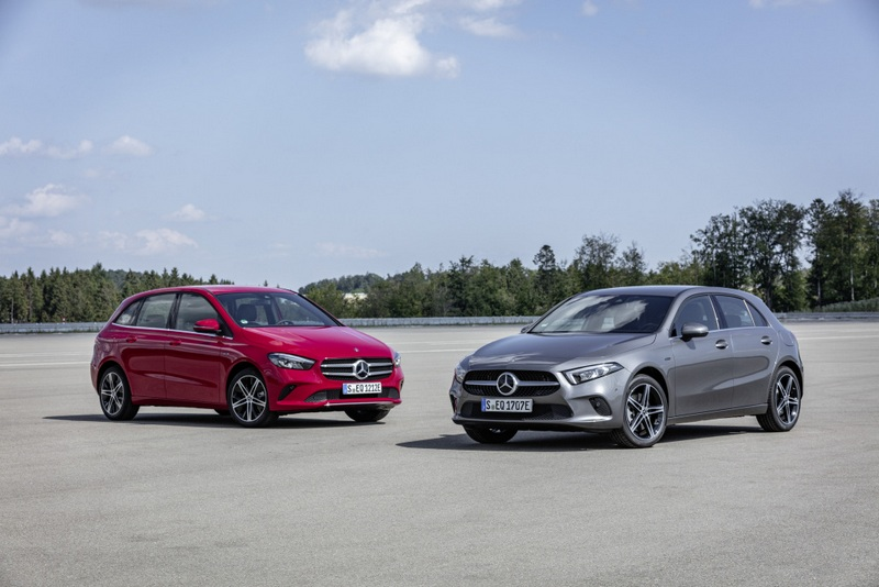 Mercedes-Benz推出插電式油電A250 e與B250 e車型。