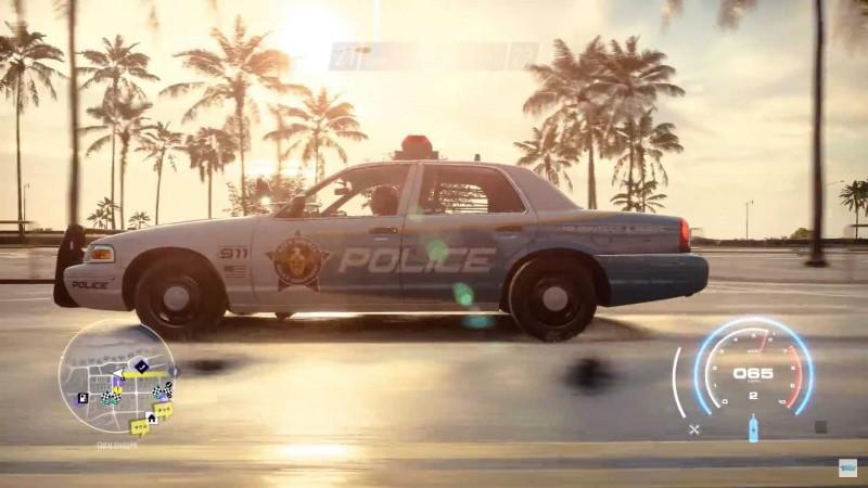 警察追捕可是該遊戲相當經典好玩部分。