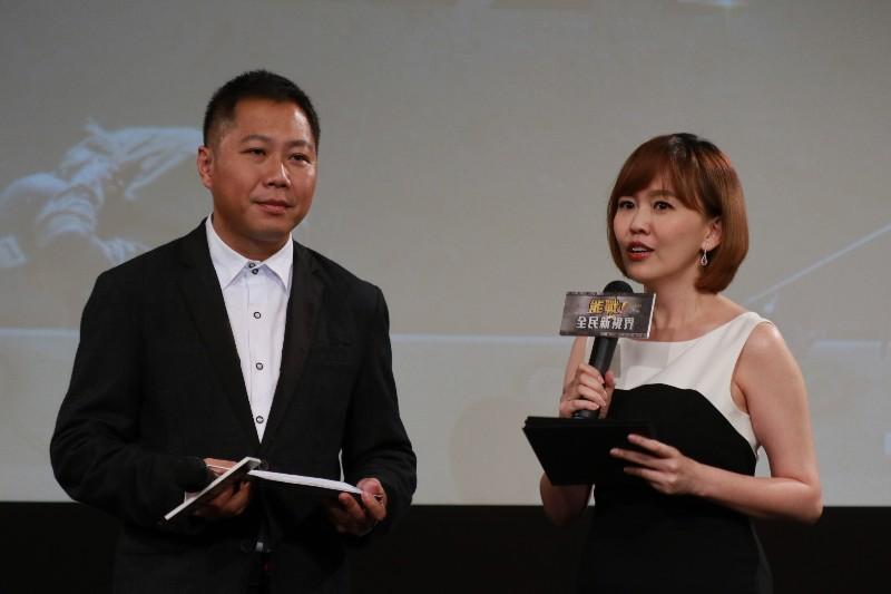 (左起)楊鎮全、廖芳潔