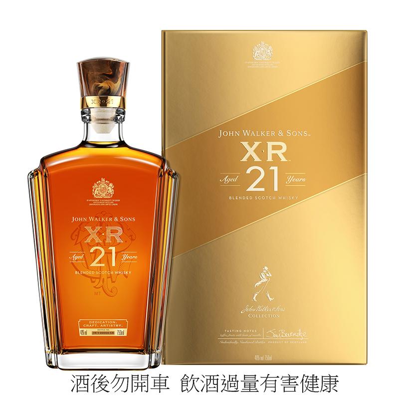 XR 21年蘇格蘭威士忌,建議售價NT$2,900