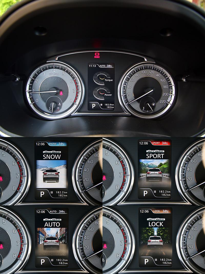 全新的儀錶板內彩色多功能顯示幕,提供更好的行車資訊辨識性。