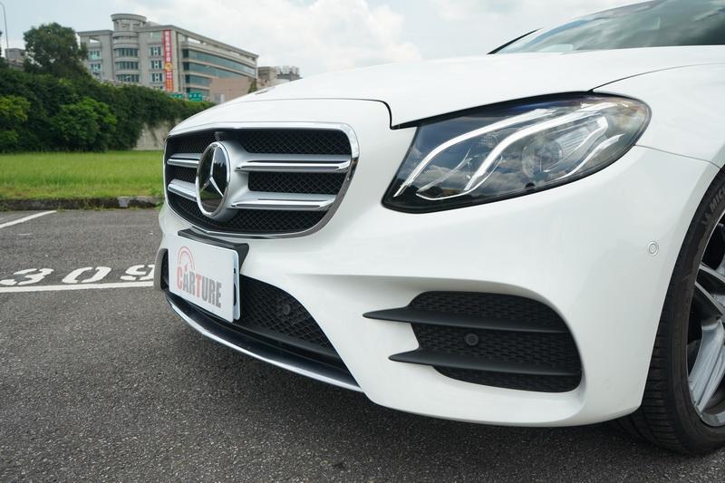 台灣賓士所提供的試駕車皆以「進化版」之名替內、外觀增添不少看頭