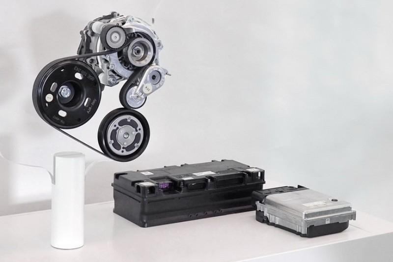 Golf八代將會導入48V輕油電系統。