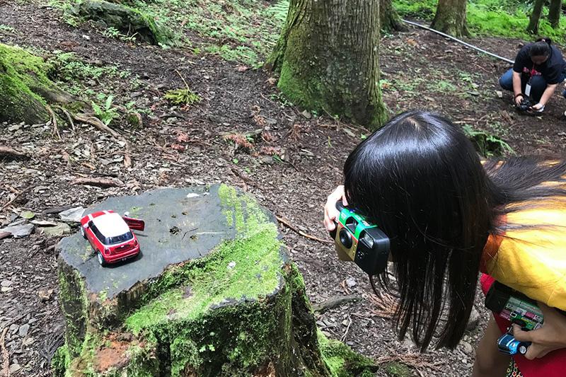 新光國小森林教室戶外攝影。
