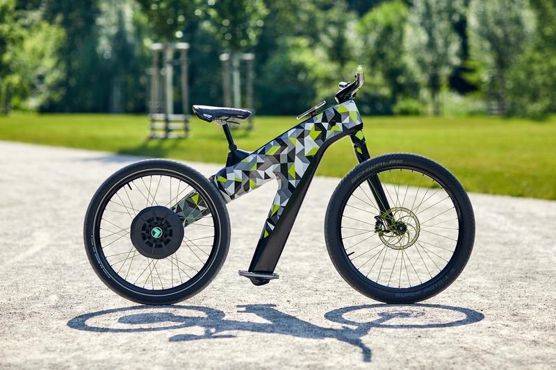 Skoda將於國際自行車展展出Klement電動自行概念車。