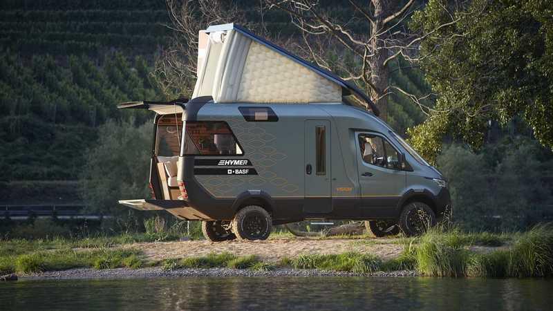 Hymer於Caravan Salon展帶來VisionVenture Concept露營概念車。