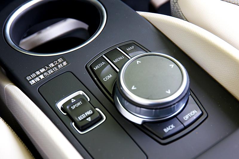 iDrive控制旋鈕讓人無須適應就能立即上手。