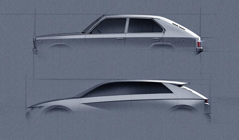 車明另一原因 則是45 EV Concept設計靈感源自於45年前的Pony Coupe Concept。
