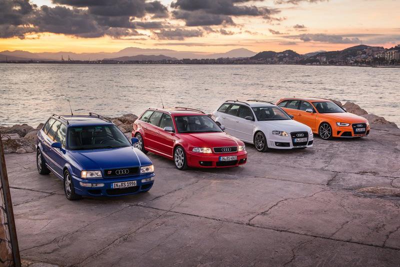自RS2 Avant後,渦輪增壓與Quattro四傳成為日後Audi性能產品的金字招牌。