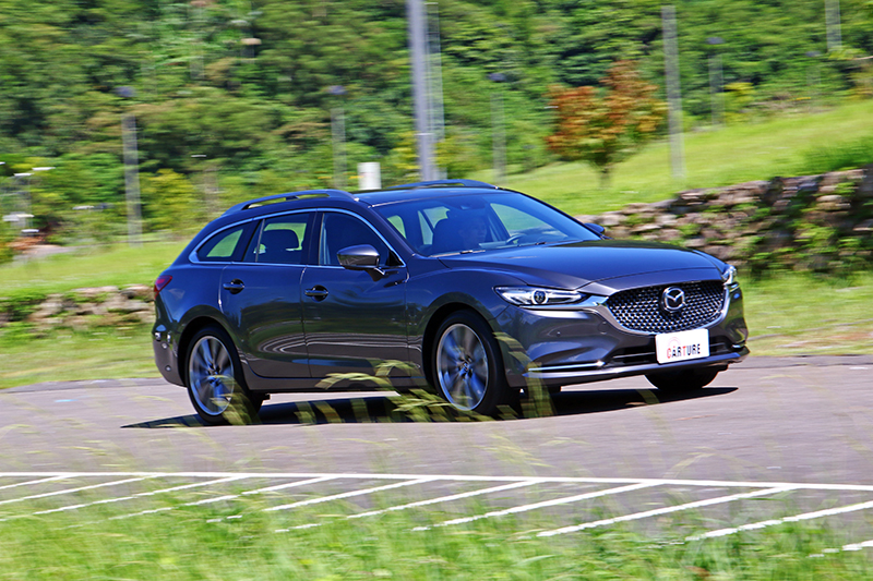 Mazda 6 Wagon因自然進氣緣故而有著順暢亦掌握的加速特性。
