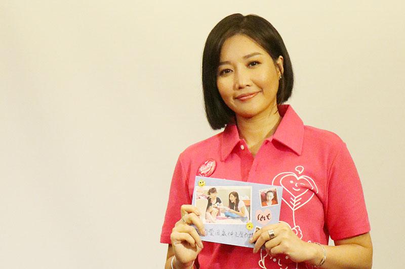 A-Lin用愛與歌聲做愛心,為愛奇兒家庭獻唱