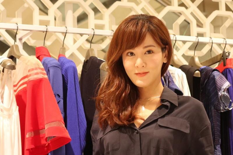人氣演員邱琦雯與時尚品牌iROO合作推出聯名款