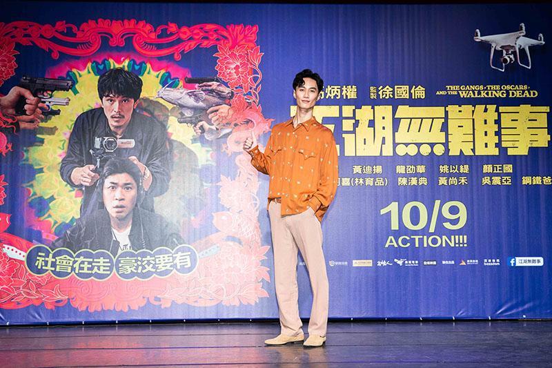 李英宏創作電影主題曲《無經驗可》/華映娛樂提供