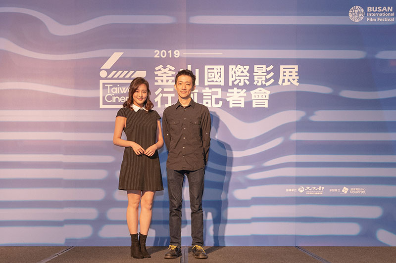 左起:《返校》演員王凈、導演徐漢強