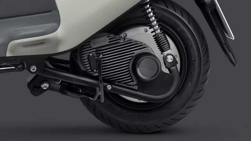 Viva在動力上推出全新 GH1 整合式鋁合金輪轂馬達。